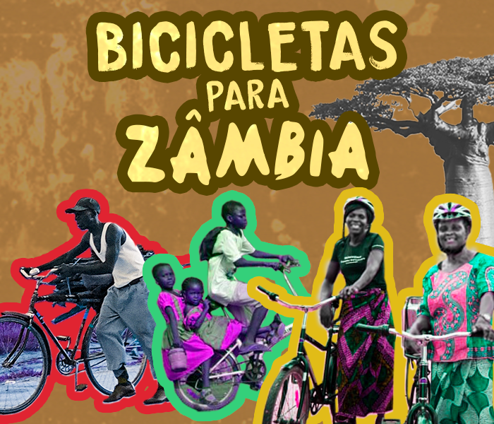 Bicicletas para Zâmbia