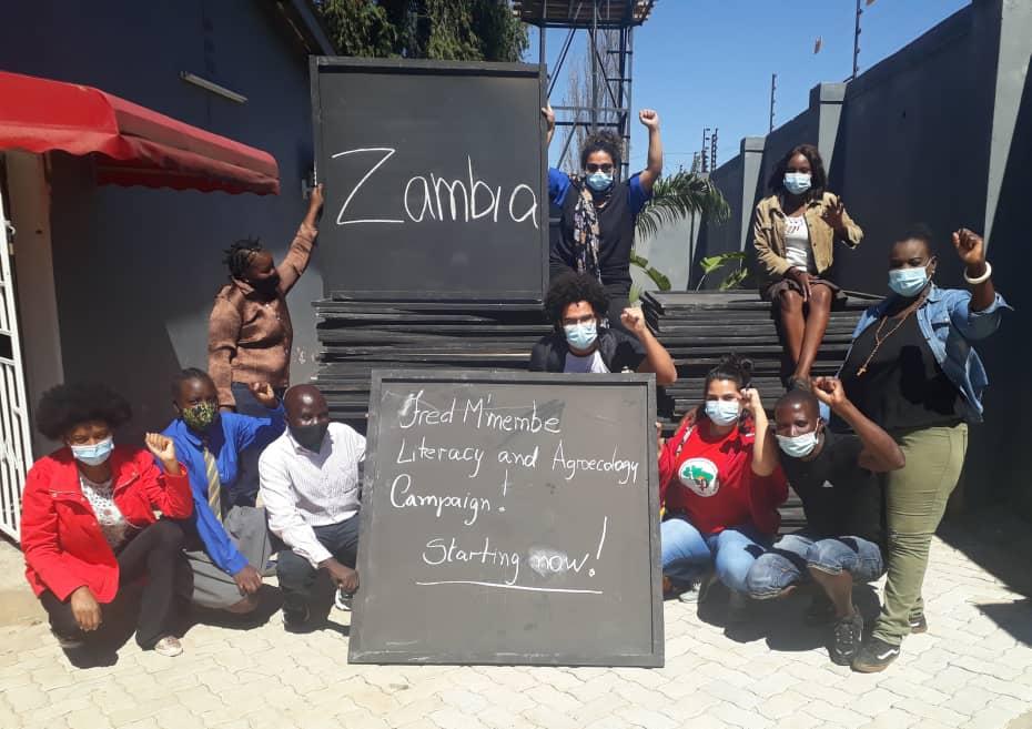 Na Zâmbia, Campanha de Alfabetização e Agroecologia é iniciada