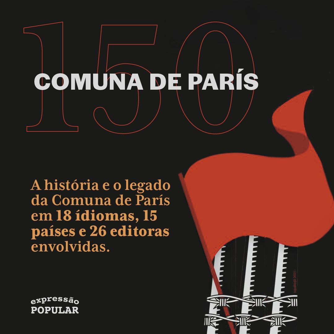 Comuna de Paris 150 anos