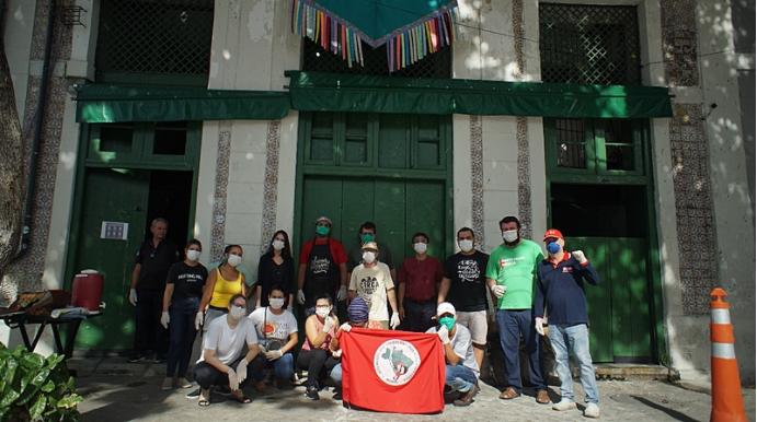 Em Live Solidária MST comemora 2 anos do Armazém do Campo Recife