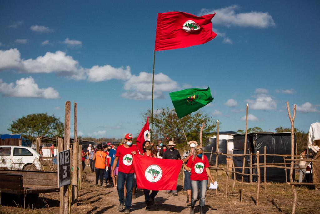 No Rio de Janeiro, Acampamento Cícero Guedes completa um mês de resistência e organização