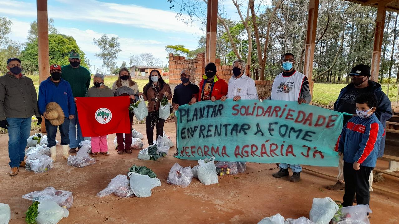 Semana de ações: Plantar Solidariedade, Enfrentar a Fome em SP.