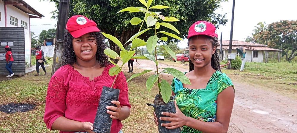 Regional do MST no Recôncavo da Bahia realiza plantio na Semana da Árvore