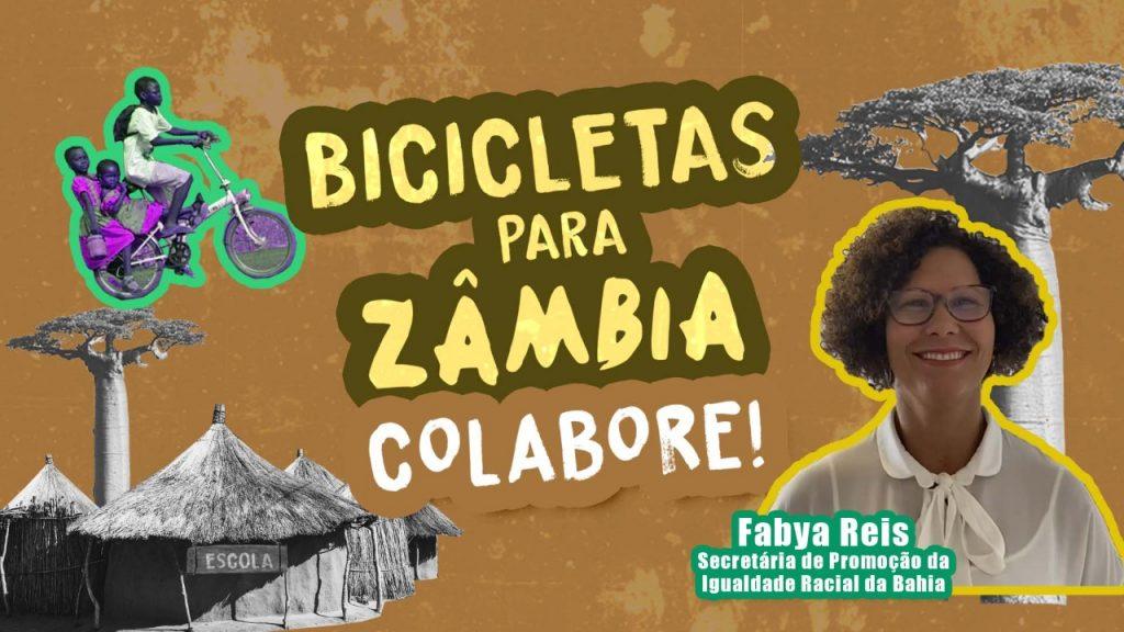 EU APOIO! Fabya Reis defende a Campanha Bicicletas para Zâmbia