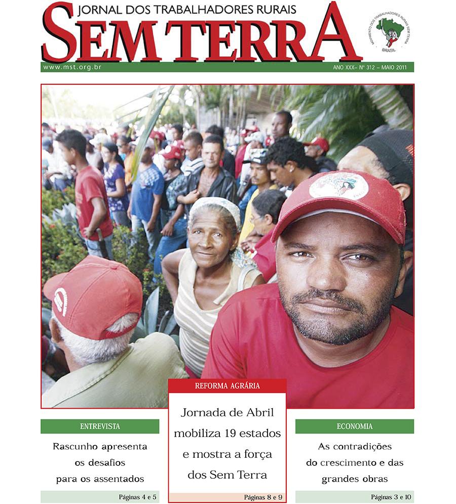 Jornal Sem Terra Nº 312/2011