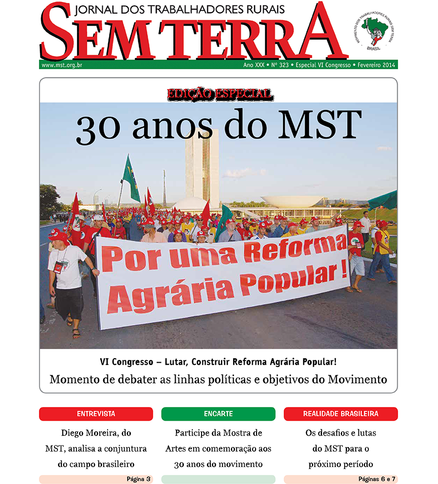 Jornal Sem Terra Nº 323/2014