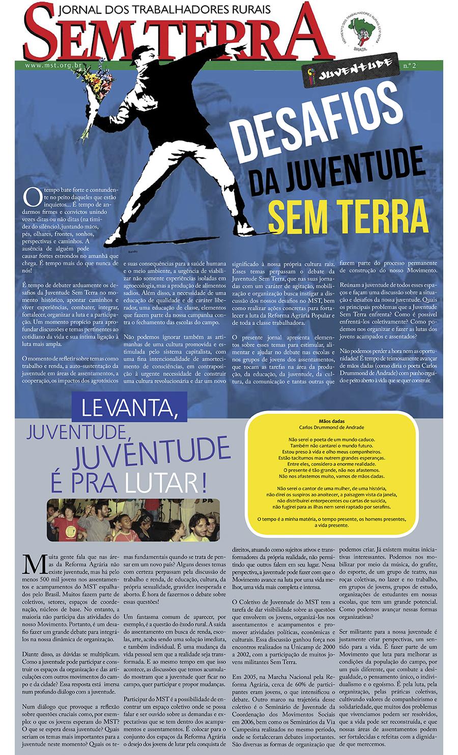 Especial | Jornal Juventude Sem Terra