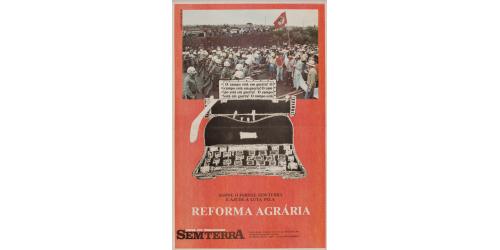 Campanha de assinatura do Jornal Sem Terra
