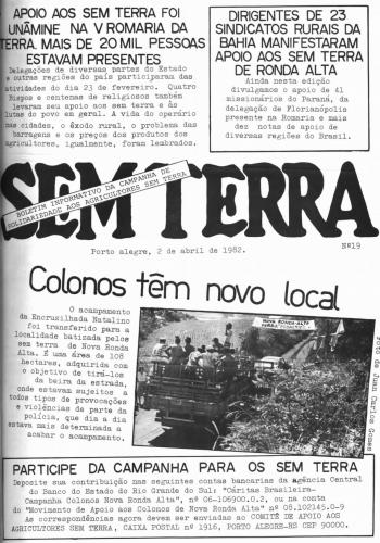 Boletim Sem Terra Nº 19/1982